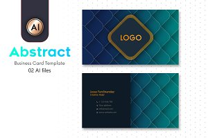 Abstract Business Card Template - 14