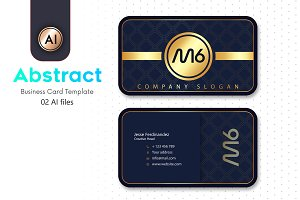 Abstract Business Card Template - 15