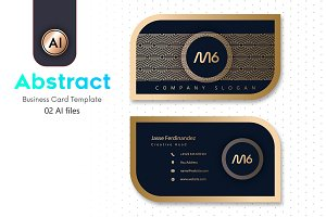 Abstract Business Card Template - 19