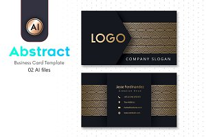 Abstract Business Card Template - 20
