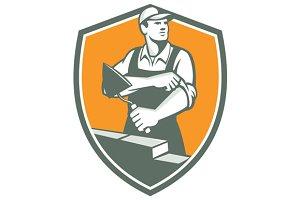 Tiler Plasterer Mason Trowel Shield