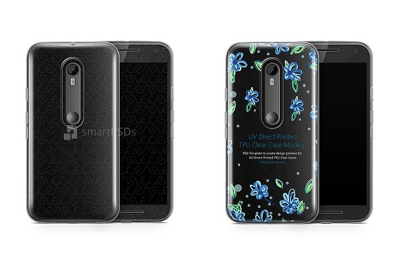 Motorola Moto G3 UV TPU Clear Case