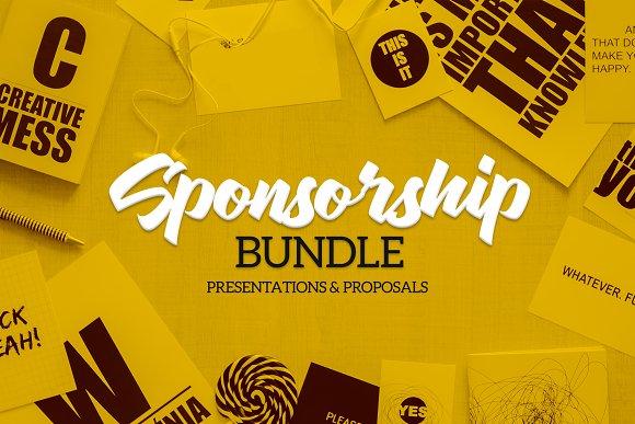 Sponsorship Bundle-Graphicriver中文最全的素材分享平台