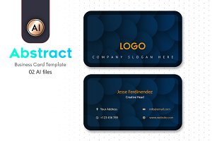 Abstract Business Card Template - 27