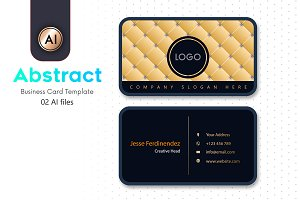 Abstract Business Card Template - 30