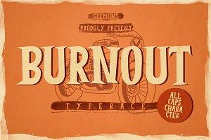Burnout Font
