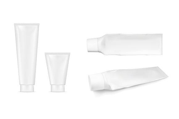 Plastic squeezed tube