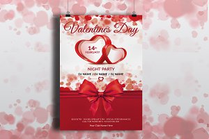 Valentines Party Flyer -V725