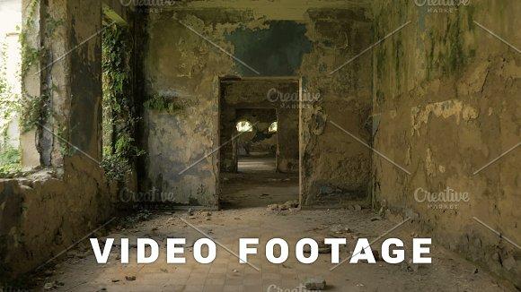 Walking in the abandoned building in Tskaltubo, Georgia in Graphics