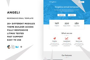 Angeli – Email template + Builder