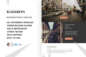 Elizabeth – Email template + Builder