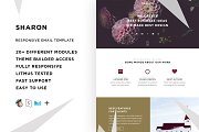Sharon – Responsive Email template