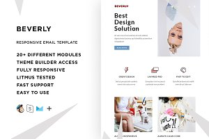 Beverly – Email template + Builder