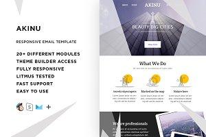 Akinu – Email template + Builder