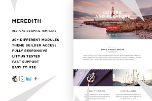 Meredith – Email template + Builder