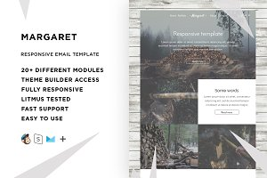 Margaret – Email template + Builder