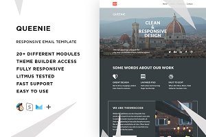 Queenie – Email template + Builder