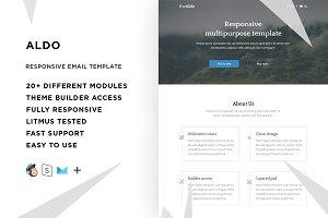 Aldo – Email template + Builder