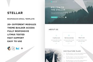 Stellar – Email template + Builder