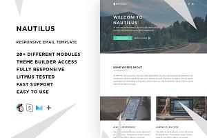 Nautilus – Email template + Builder