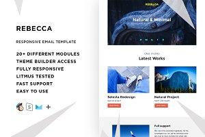 Rebecca – Email template + Builder