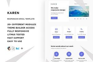 Karen – Email template + Builder