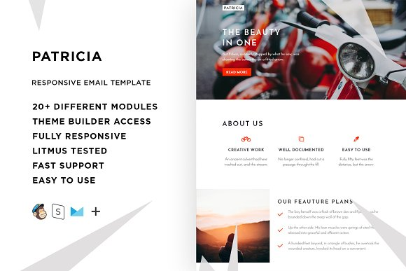 Patricia email template builder email templates creative patricia email template builder email pronofoot35fo Image collections