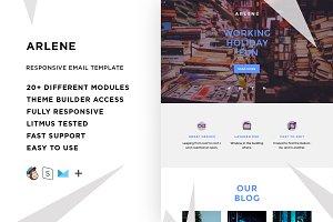 Arlene – Email template + Builder