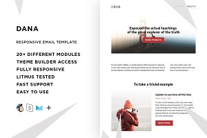 Dana – Email template + Builder