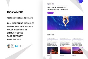 Roxanne – Email template + Builder