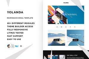 Yolanda – Email template + Builder