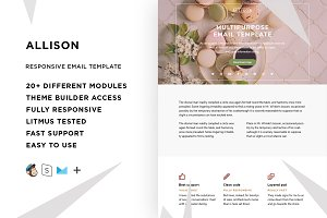 Allison – Email template + Builder
