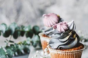 Delicious luxury cupcakes
