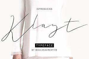 Klast Typeface