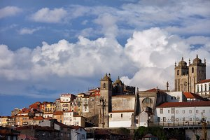 Porto City Skyline in Portugal