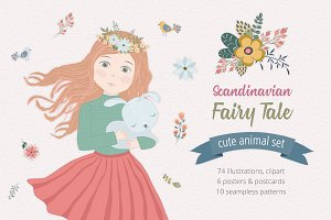 Scandinavian Fairy Tale Illustration