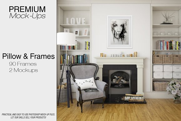 Frames & Pillow Mockup Set