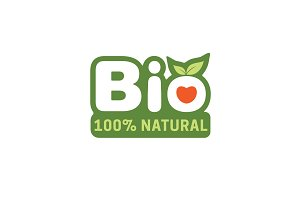 Bio Label For Organic Product