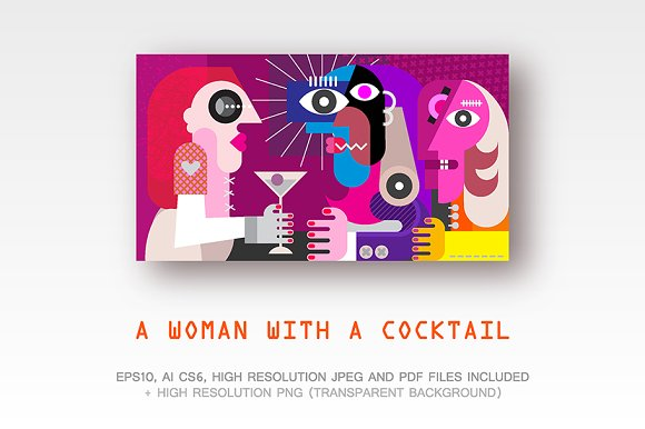A Woman With a Cocktail