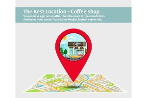Best location coffee shop