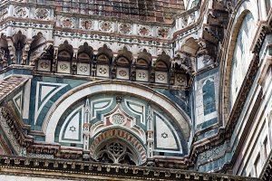 Florence Cathedral details, Italy
