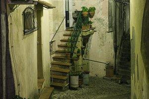 Night Stilo village, Calabria, Italy