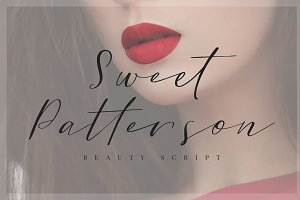 Sweet Patterson - Beauty Font