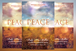 Peace Church Flyer