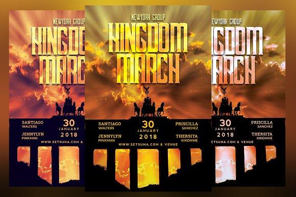 Kingdom March Flyer