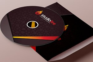CD / DVD Album Cover Design Template