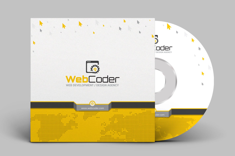 Cd Dvd Album Cover Design Template Creative Illustrator Templates Creative Market