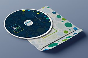 CD Label | Artwork Design Template