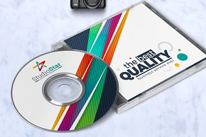 Creative CD Label Template