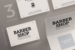 Business Cards | Barber Shop